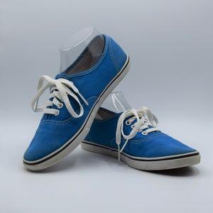 Vans TB9C Low Pro Skate Sneakers Blue Sz 7.5